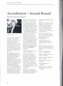 SFLA Accredited Specialists April 2000