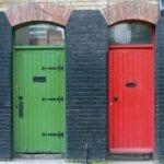 Green door and red door choice