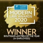 modern law awards winner 2020