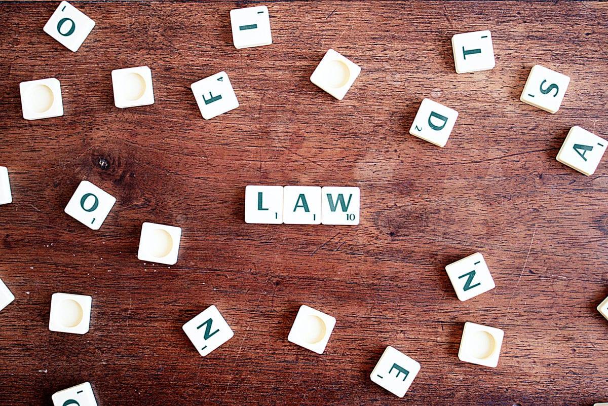 law scrabble pieces