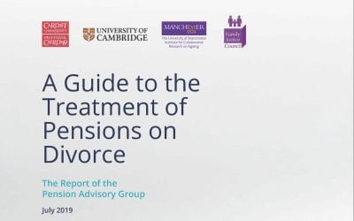 A Guide to the Treatment of Pensions on Divorce