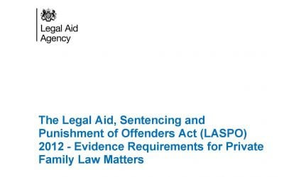Legal Aid for cases other than Care Proceedings