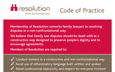 Resolution Code of Practice