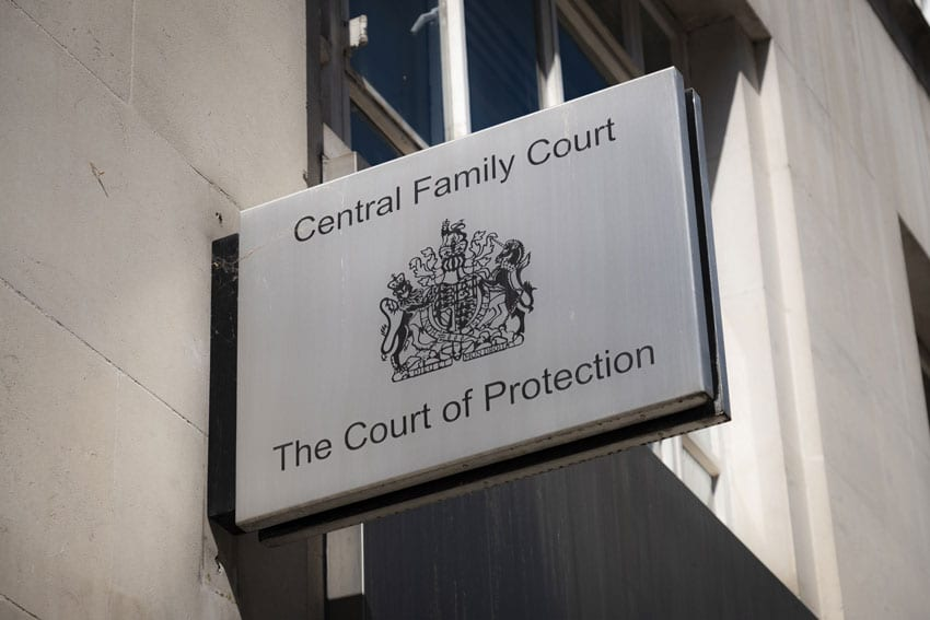central family court the court of protection