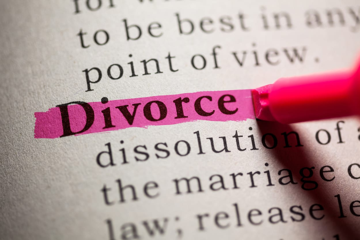 Divorce highlighted