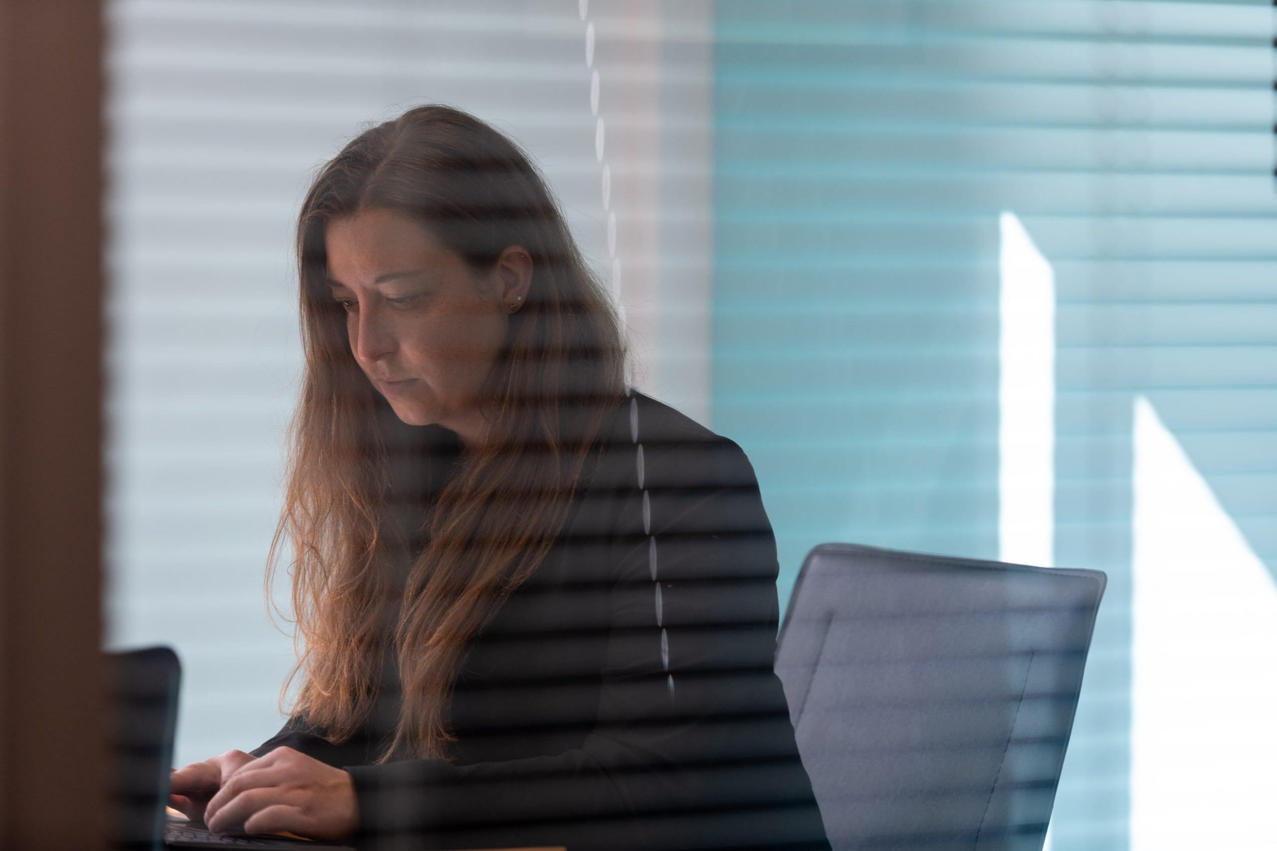 record divorce case internal office shot