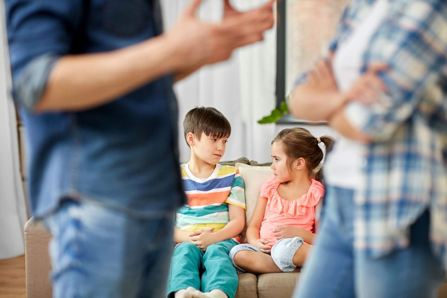 divorce conversation with children