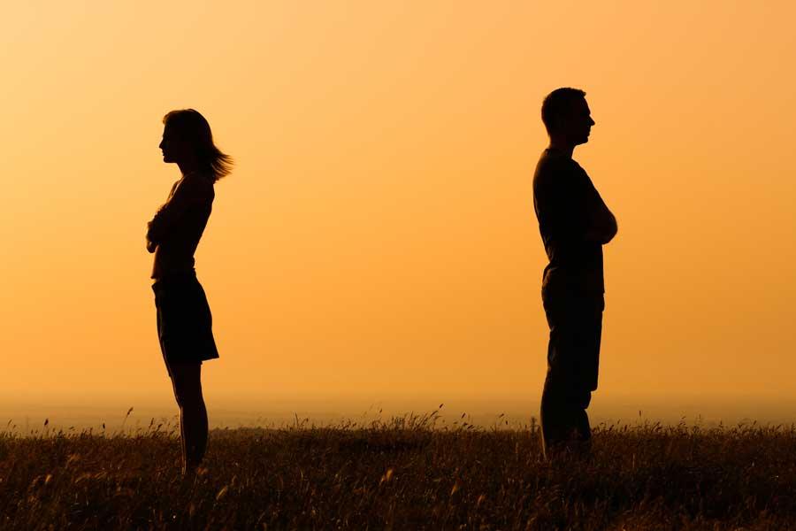 divorce maintenance couple